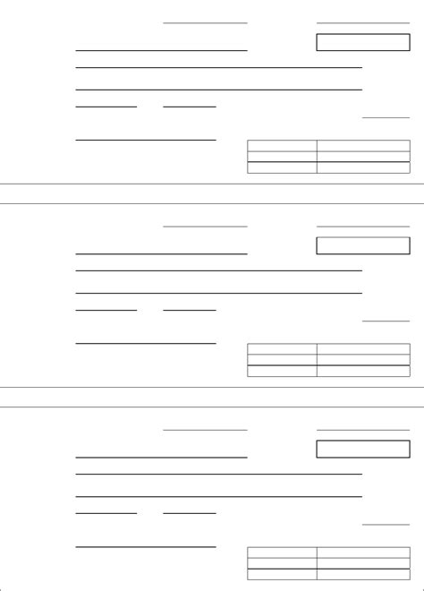 generic receipt template for free tidyform
