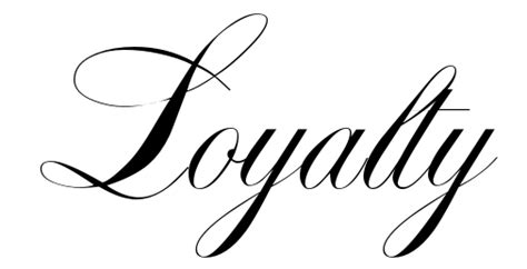 tattoo lettering loyalty loyalty tattoo tattoo collections
