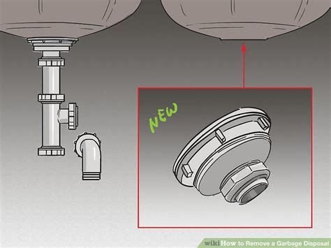 how to remove garbage disposal from sink how to remove a garbage disposal with pictures wikihow