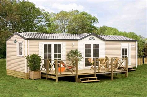 appealing mobile home patio ideas with cream wall framed