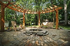 Pergola Round by Round Pergola Outdoor Pinterest