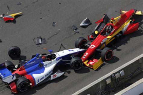 indy car crash indianapolis indycar simon pagenaud wins inaugural road course gp indycar autosport
