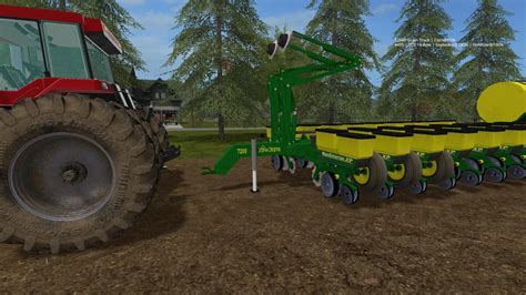 24 Row Deere Planter by Deere 7200 24 Row Planter V1 0 0 1 17 For Fs 17