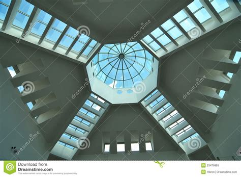 Glass Ceiling Design Modern Ceiling Design Royalty Free Stock Photo Image