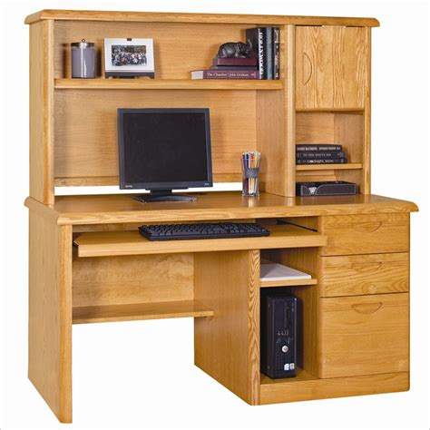 Wood Desk With Hutch by Runtime Error