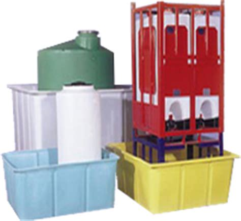 secondary containers for chemical storage aco container systems industrial polyethylene storage tanks