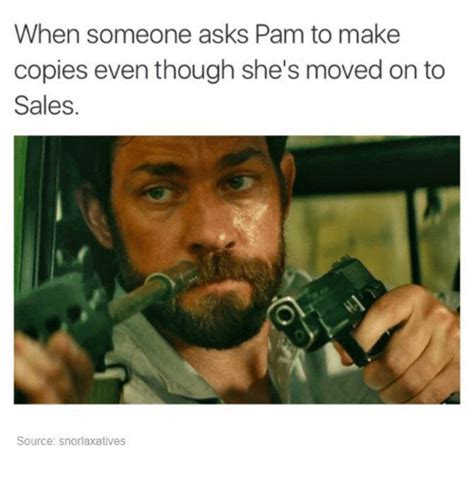 How Do U Make A Meme - when someone asks pam to make copies even though she s