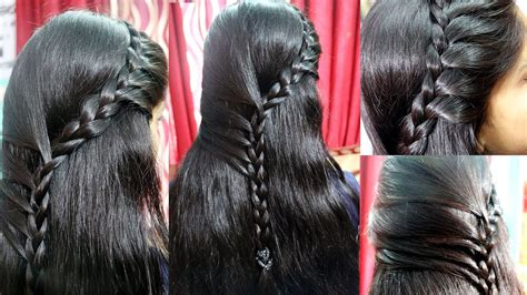 choti hair styles image new french hair style with five side braids french choti