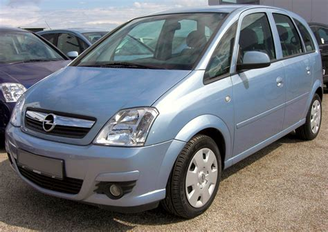 2008 Opel Meriva Photos Informations Articles