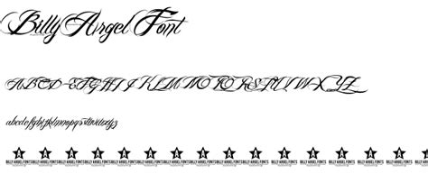 tattoo fonts billy argel 8 billy argel font alphabet images free billy argel