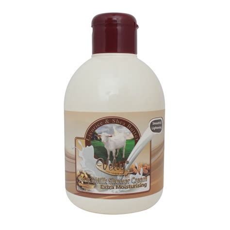 Velvy Goat S Milk S C Moist Silk Grape Seed 250ml Refill Velvy Goat S Milk S C Moist Lirorice Shea Butter