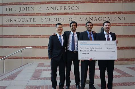 Mba Ucla Evening by Smooth Storytelling Earns Team Silver In Stock Pitch