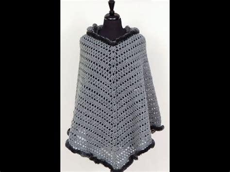 youtube crochet poncho crochet poncho con capucha el cuerpo youtube