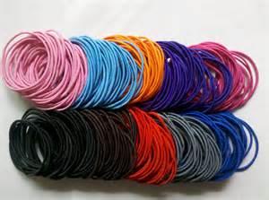 elastic hair band hair scrunchies images