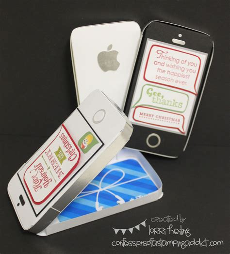 Ios Gift Card - iphone gift card holder confessions of a sting addict