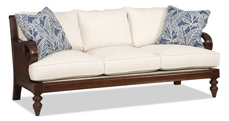exposed wood frame sofa elegant wood frame sofa design