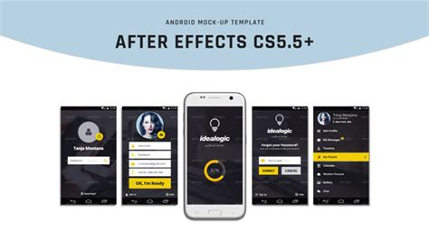 android mock up mobile envato videohive after
