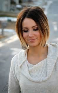 ombre for shorter hair short hair ombre dark brown hairs