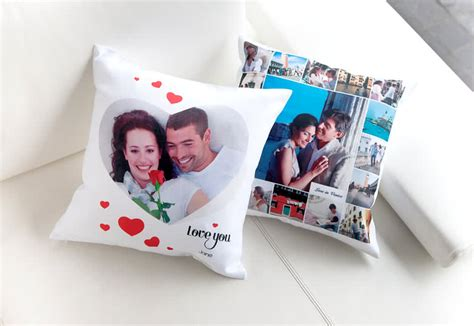 photo print pillow personalised cushion with photo print photo on pillow