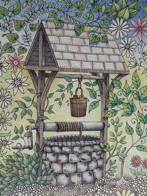 passion  pencils  secret garden colouring book