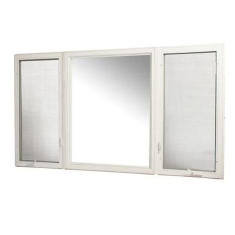 Home Depot Awning Windows by Tafco Windows 107 In X 60 In Vinyl Casement Window With