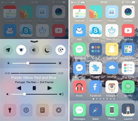 iphone themes cydia ios 9 the best jailbreak themes for ios 10 10 2 anemone