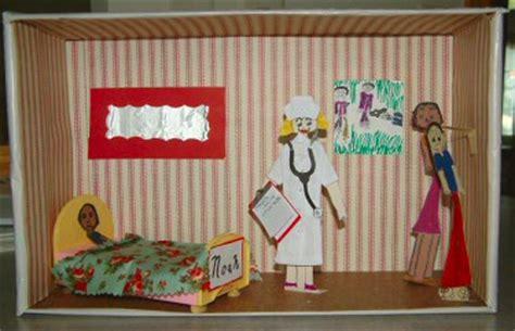 book report diorama april 2007 stacysews