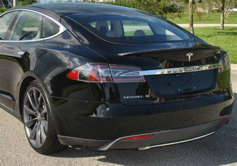 Oe To Tesla Tesla S Model 85 Rear Trunk Bonnet Lid Cover Oe Ebay