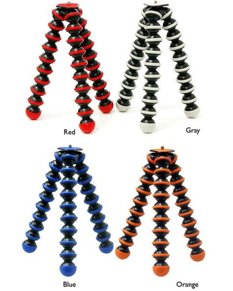 Gorillapod 5kg By Areahp apex spiderpod 829 heavy duty tripod upto 5kg capacity