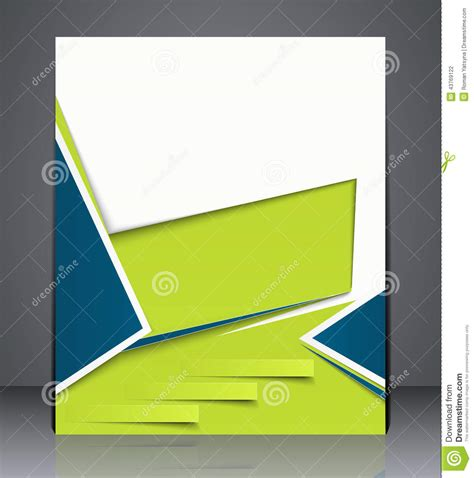 layout of a cover vector layout business brochure magazine cover or