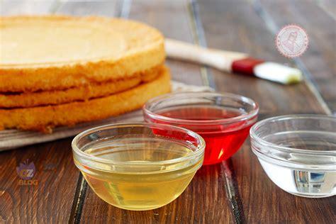 bagne per pasticceria bagne per torte ricetta base alcoliche analcoliche alla frutta