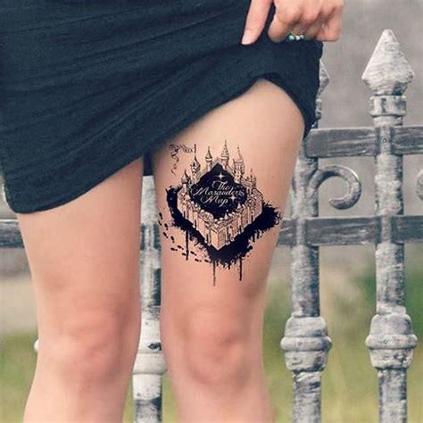marauders map tattoo best 25 harry potter scar ideas on