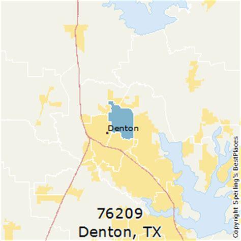 denton texas zip code map best places to live in denton zip 76209 texas