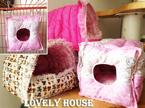 how to make a guinea pig bed hammock for rabbit guinea pig ferret small animals hanging