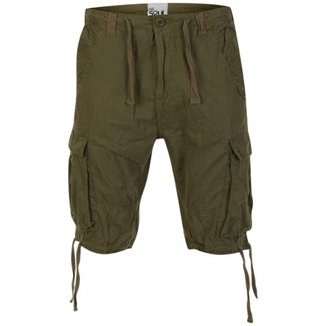 clothes for men over 55 55 soul men s spirit shorts khaki mens clothing zavvi