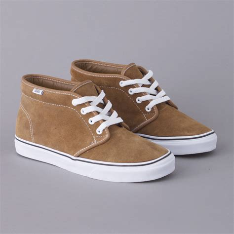 vans fall 2010 chukka boot suede pack