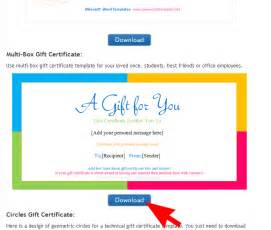 make your own certificate templates how to make your own gift certificates save word templates