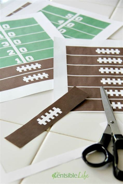 cutting games paper free printable game day paper chain centsible life