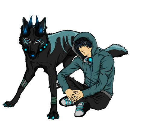 Headphone Warwolf hanzo kreptis wolf and human version by blue rakuen on deviantart
