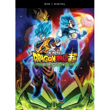dragon ball super broly dvd digital copy