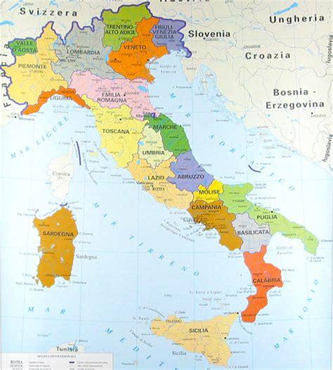d itlai impariamo insieme cartine geografiche dell italia