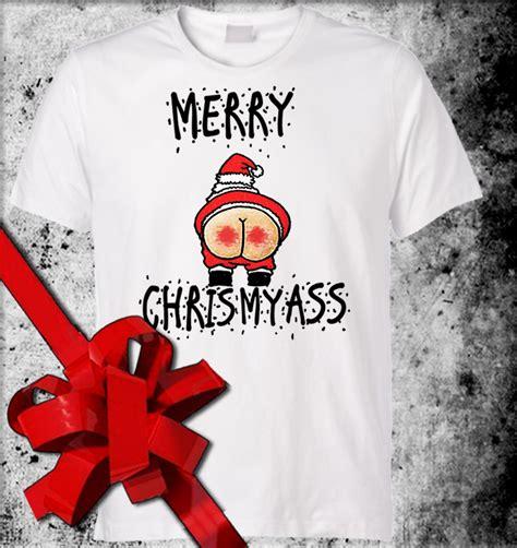 Merry Shirt merry chrismyass tshirt offensive santa