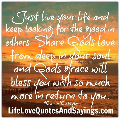 Live Quotes And Sayings