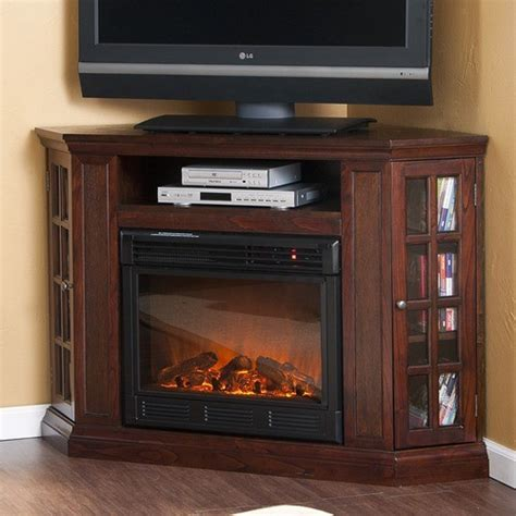 Fireplace Corner Tv Stand by Bismark 50 Quot Tv Stand With Electric Fireplace Modern