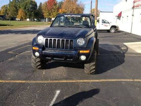 Jeep Liberty Road Parts Purchase Used 2002 Jeep Liberty Custom Convertible Lifted