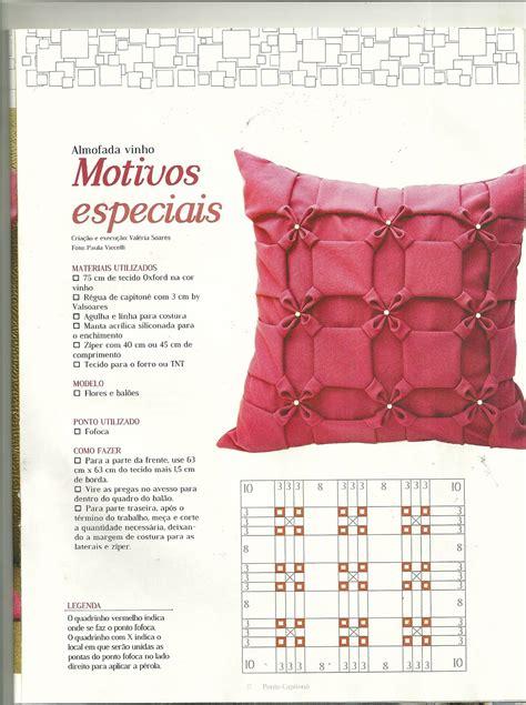 patrones y esquemas de punto capitone artesanato fofo almofada vinho em capiton 234