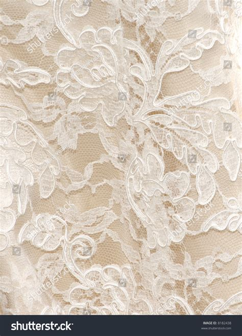 wedding background texture vintage wedding dress lace white background stock photo