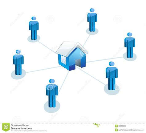team house real estate team real estate house royalty free stock photos image 30660968