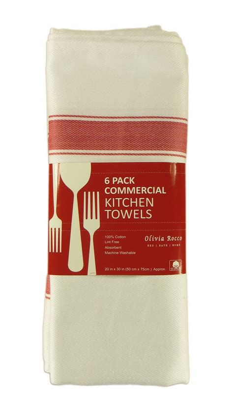 12 kitchen dish towels commercial grade 100 cotton pack of 12 kitchen tea towels large 100 cotton