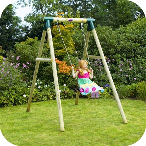 what is a swing ref 27032bush baby 174 wooden pole swing set free delivery